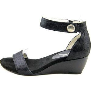 Anne Klein Calbert Ankle Strap Wedge Sandals 10.5